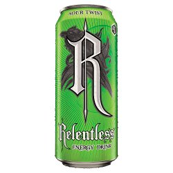 Relentless Sour Twist 500ml Energy Drink PM £1