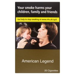 American Legend 20 Cigarettes