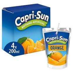 Capri-Sun Orange 4 x 200ml
