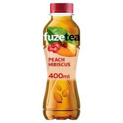 Fuze Tea Peach and Hibiscus 400ml