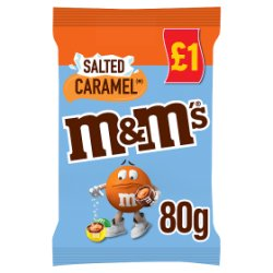 M&M's® Salted Caramel Treat Bag 80g
