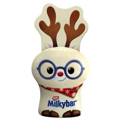 Milkybar White Chocolate Christmas Reindeer 17g