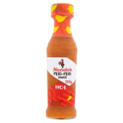 Nando's Peri-Peri Sauce Hot 125g