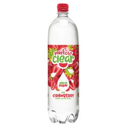 Perfectly Clear Still Strawberry Flavour Spring Water 1.5L