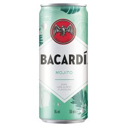 Bacardí Mojito Rum Mixed Drink 250ml
