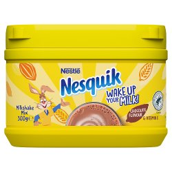 Nesquik® Chocolate Milkshake Powder 300g Tub