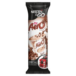 NESTLÉ Aero Hot Chocolate Powder, Sleeve of 8 Cups x 28g (224g)