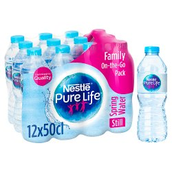 Nestle Pure Life Still Spring Water 12x500ml
