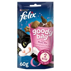 Felix Goody Bag Cat Treat Picnic Mix 60g