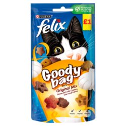 Felix Goody Bag Cat Treats Original Mix 60g