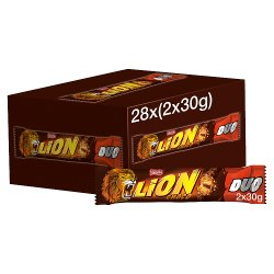 Lion Milk Chocolate Duo Bar 60g