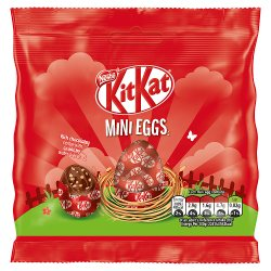 Kit Kat Milk Chocolate Filled Mini Eggs Pouch 81g
