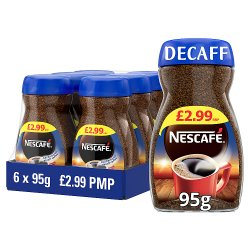 Nescafe Original Decaff Instant Coffee 95g