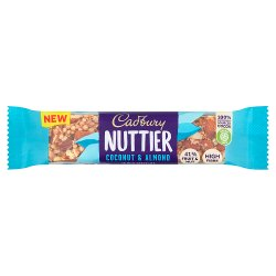 Cadbury Nuttier Coconut & Almond Chocolate Bar 40g