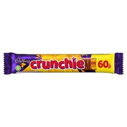 Cadbury Crunchie Chocolate Bar 60p 40g