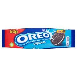 Oreo Original Vanilla Chocolate Sandwich Biscuit 60p 66g