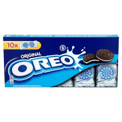 Oreo Chocolate Sandwich Biscuit 10 Snack Packs 220g
