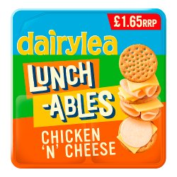Dairylea Lunchables Chicken 'n' Cheese Stackers £1.65 76.8g