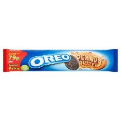 Oreo Peanut Butter Sandwich Biscuits 79p 154g