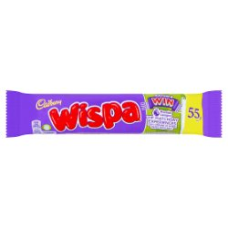 Cadbury Wispa 55p Chocolate Bar 36g