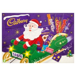 Cadbury Medium Santa Chocolate Selection Box 169g