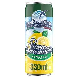 San Benedetto Prima Spremitura Limone 330ml Cans