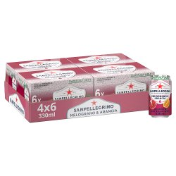 San Pellegrino Pomegranate & Orange 4x6x330ml