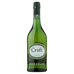 Croft Original Sherry Fine Pale Cream 750ml