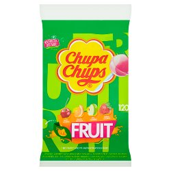 Chupa Chups Fruit Lollipops - 1440g / 120 Lolly Bag