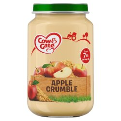 Cow & Gate Apple Crumble Jar 200g