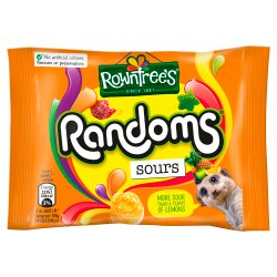 ROWNTREE'S® Randoms® Sours Sweets Bag 43g