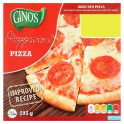 Gino's Pepperoni Deep Pan Pizza 285g