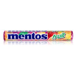 Mentos Chewy Dragees Fruit Roll Complimentos 38g