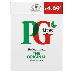 PG tips Original 160 Tea Bags
