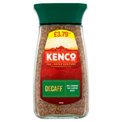 Kenco Decaf Instant Coffee 100g £3.79 PMP