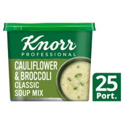 Knorr Classic Cauliflower & Broccoli Soup 25 Portions