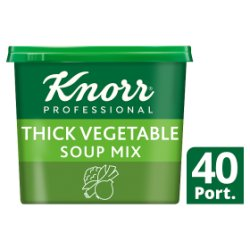 Knorr 123 Thick Vegetable Soup 40 Portions