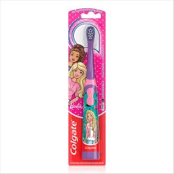 Colgate Kids Barbie Extra Soft Battery Toothbrush 3 + Years