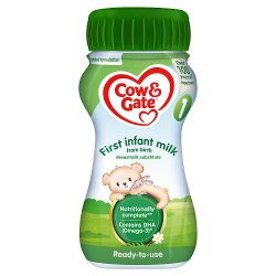 Cow & Gate 1 First Infant Milk from Birth 200ml