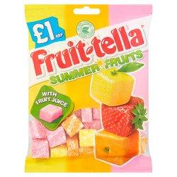 Fruittella Summer Fruits Bag 135g