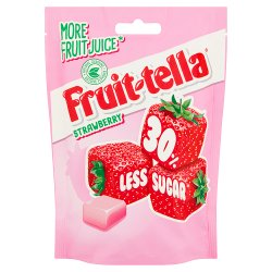 Fruittella Strawberry 30% Less Sugar 120g