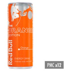 Red Bull Energy Drink, Orange Edition, 250ml PMC £1.29
