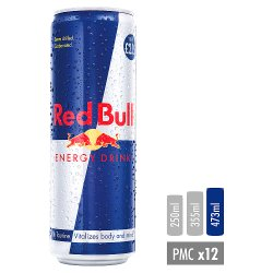 Red Bull Energy Drink, 473ml, PM £2.15 (12 Pack)