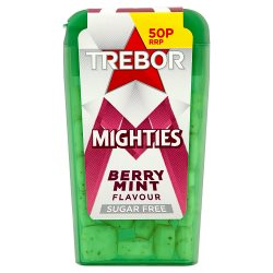 Trebor Mighties Sugar Free Berry Mints 50p 12.6g