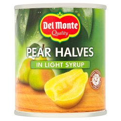 Del Monte Pear Halves in Light Syrup 227g