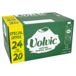 Volvic Natural Mineral Water Extra Value Pack 24 x 50cl