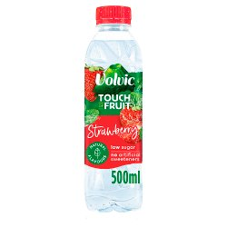 Volvic Touch of Fruit Strawberry Natural Flavoured Water 500ml