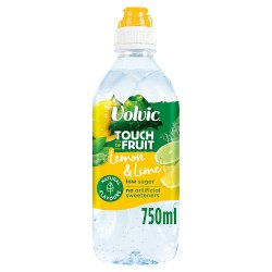Volvic Touch of Fruit Low Sugar Lemon & Lime Natural Flavour 750ml