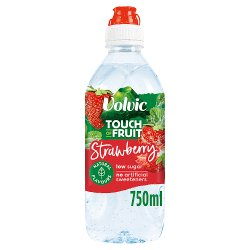 Volvic Touch of Fruit Strawberry Flavoured Water 750ml