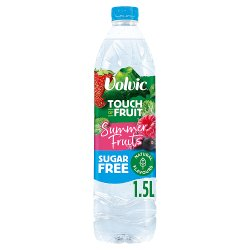 Volvic Touch of Fruit Sugar Free Summer Fruits Natural Flavoured Water 1.5L